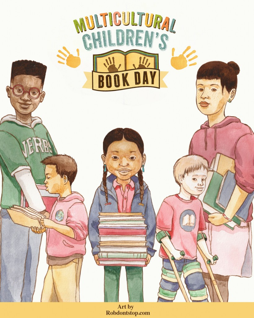 Robert Liu-Trujillo Multicultural Children's Book Day FREE poster