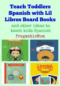 Teach Kids Spanish with Lil Libros board books
