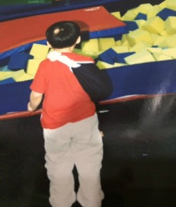 ball pit and broken arm