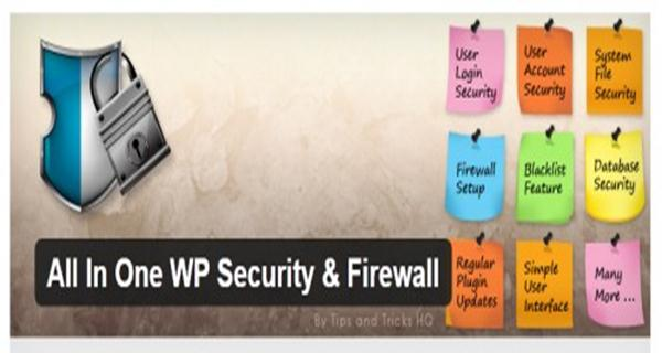 All in One Security and Firewall plugin for WordPress
