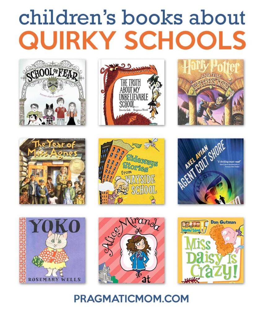 Best Quirky Schools in Children's Books