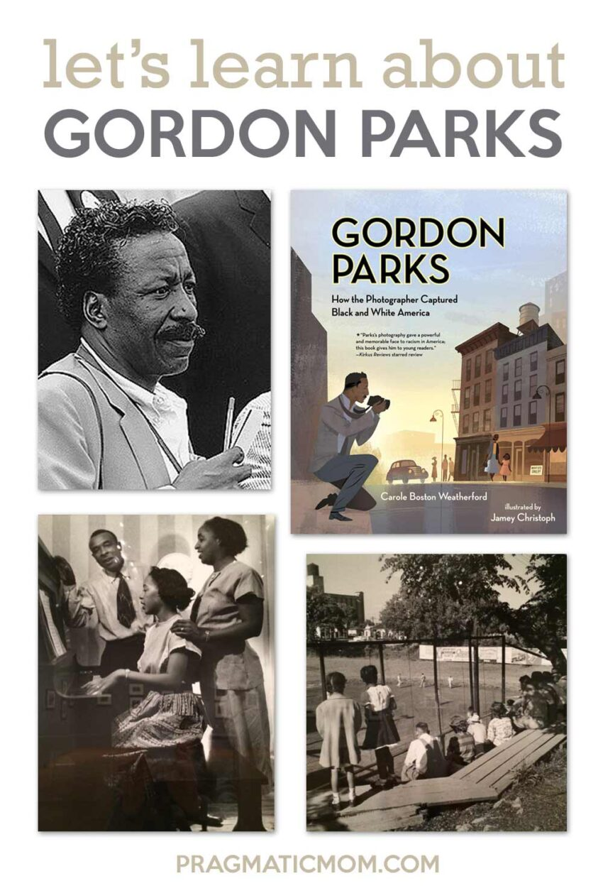 Let's Learn About Gordon Parks