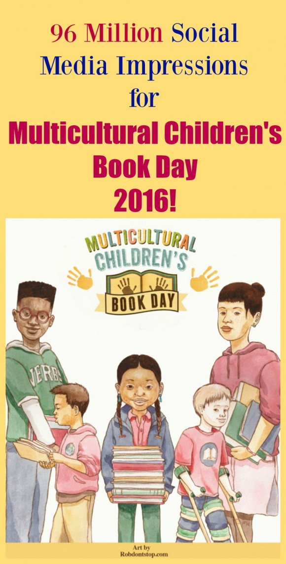 Multicultural Children's Book Day 2016 Stats