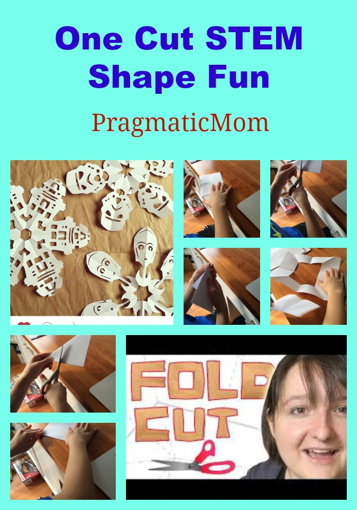One Cut STEM Shape Fun