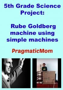 5th Grade Rube Goldberg Science Project