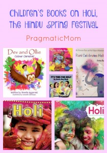 Children's Books on Holi, the Hindu Spring Festival