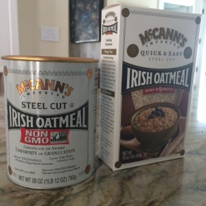 McCann Steel Cut Oats Is a Healthy Breakfast