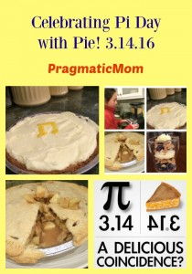 Make Pie for Pi Day 3.14.16