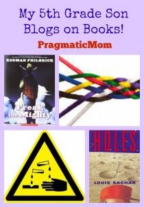 My 5th Grade Son Blogs on Books!