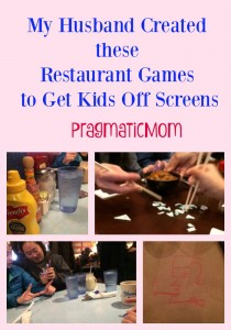 Restaurant Games to Get Kids Off Screens