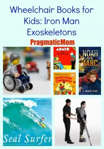 Wheelchair Books for Kids: Iron Man Exoskeletons
