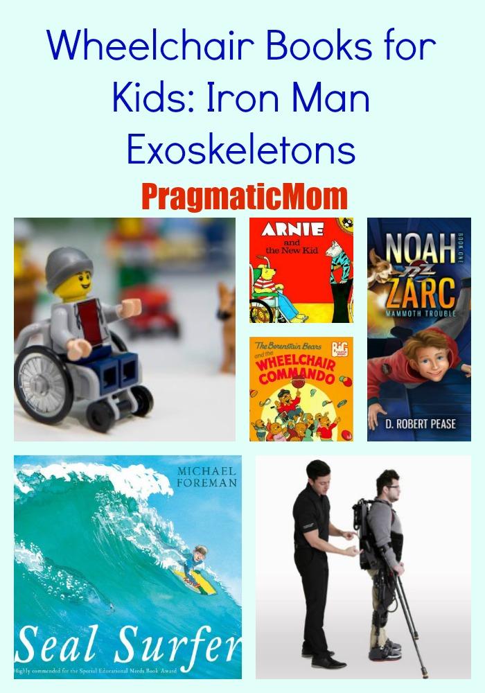Wheelchair Books for Kids: Iron Man Exoskeletons – PragmaticMom