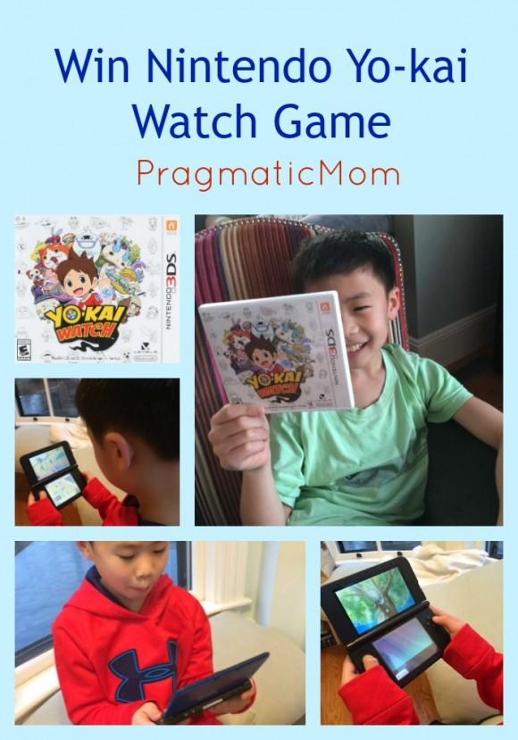 Win Nintendo Yo-kai Watch Game
