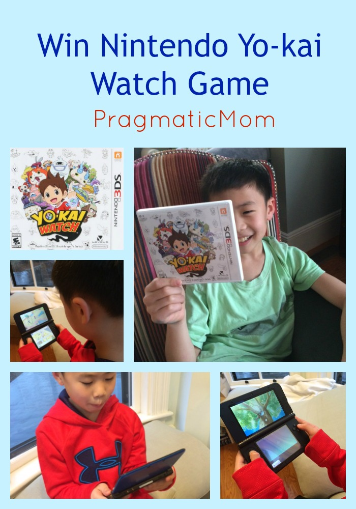 Win Nintendo Yo-kai Watch Game