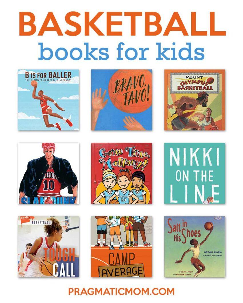 Basketball books for kids
