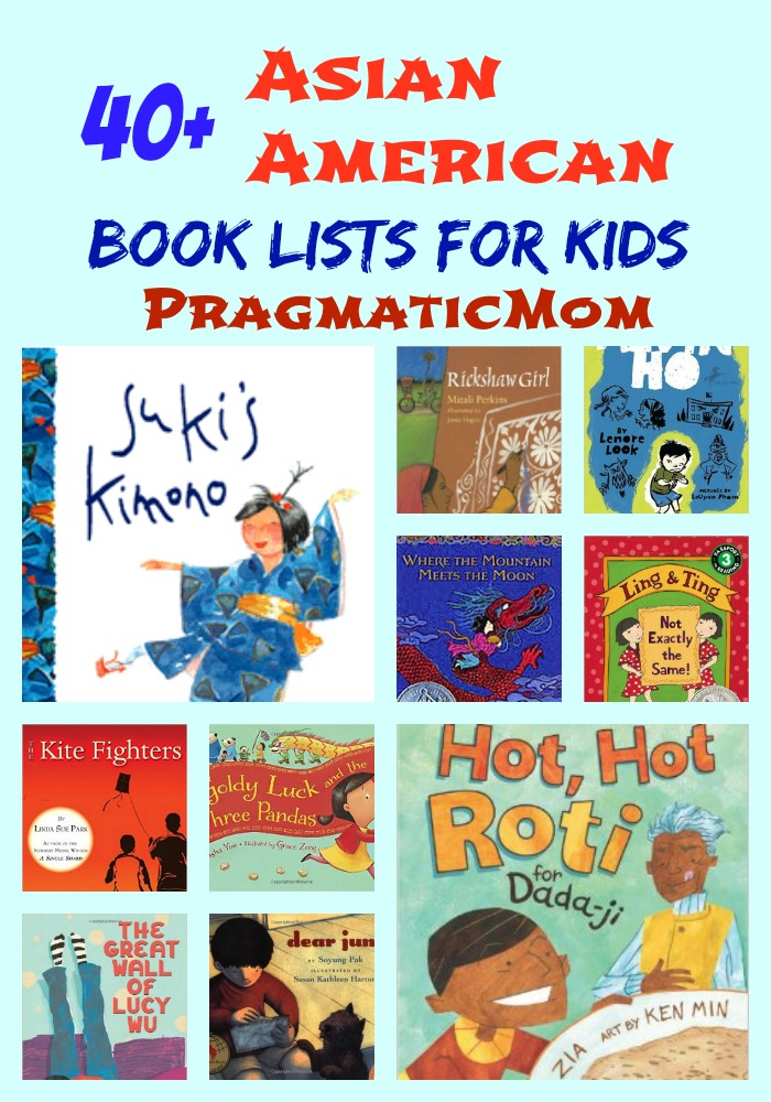 40+ Asian American Book Lists for Kids