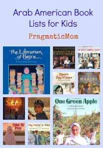Arab American Book Lists for Kids