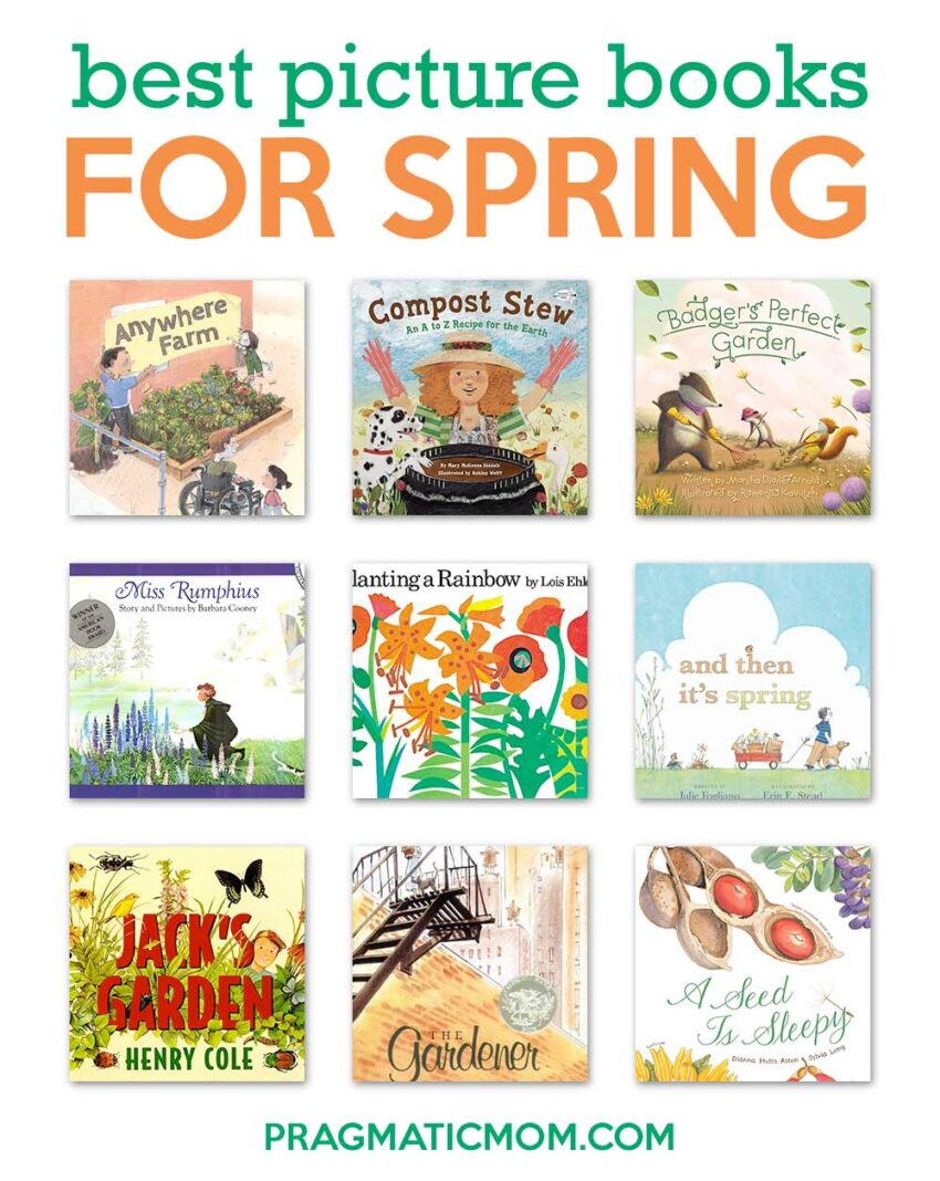 Best Picture Books for Spring