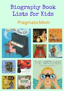 Biography Book Lists for Kids
