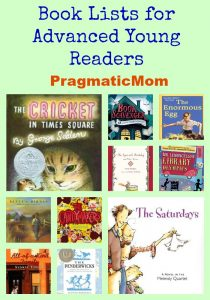 Book Lists for Advanced Young Readers