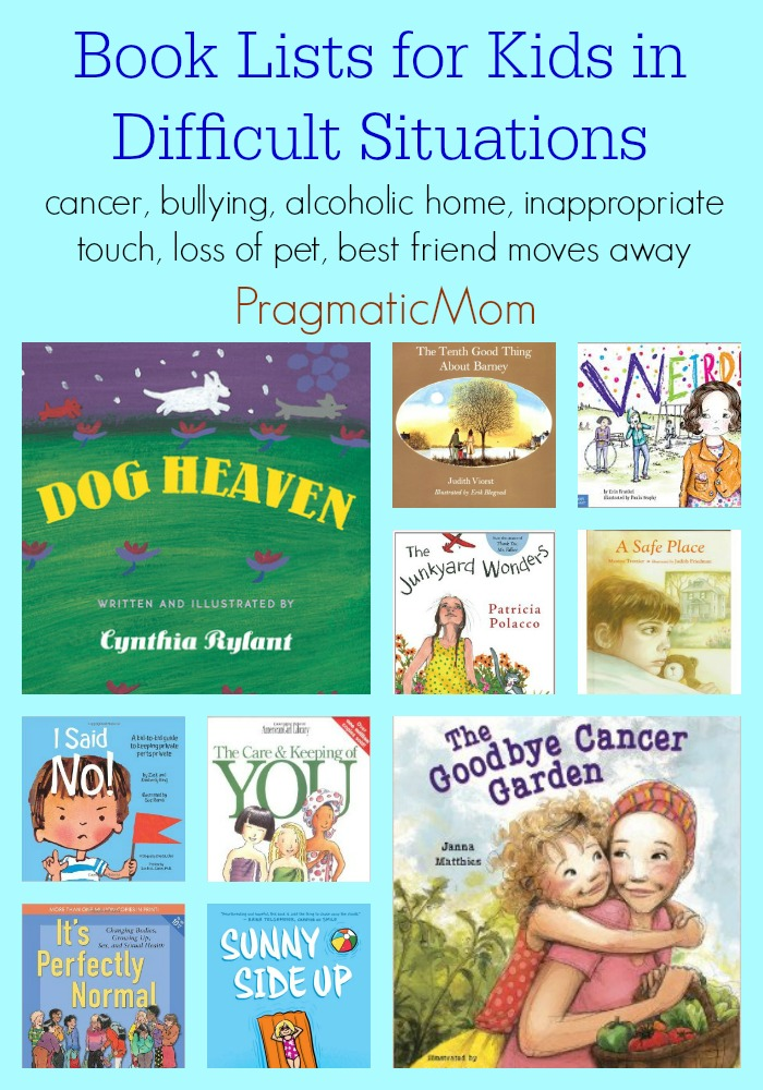 Book Lists for Kids in Difficult Situations