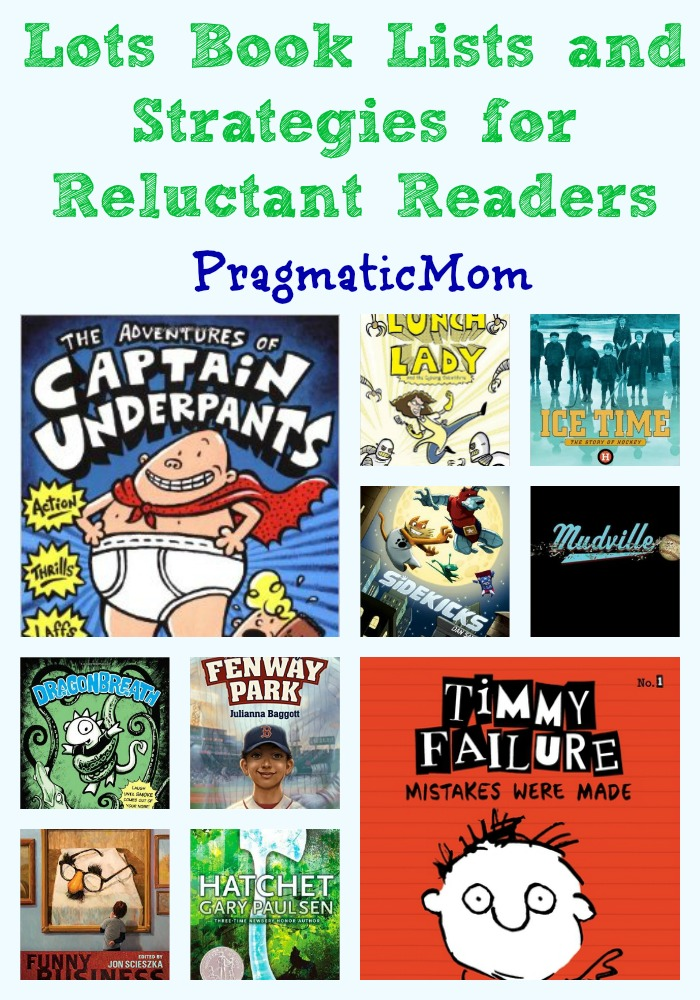 Book Lists for Reluctant Readers