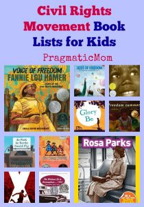 Civil Rights Movement Book Lists for Kids