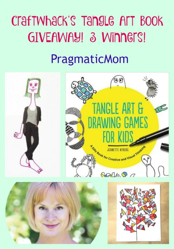 Craftwhack's Tangle Art Book GIVEAWAY! 3 Winners!