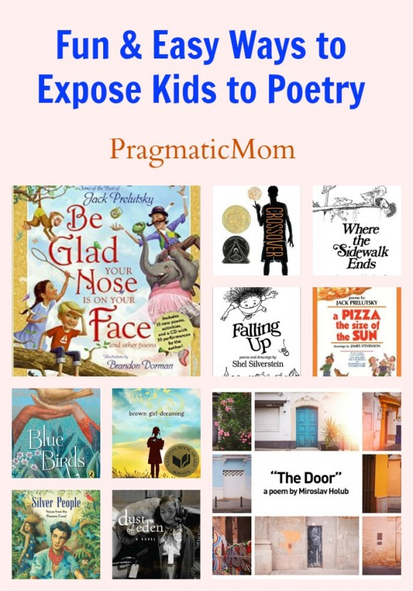 Fun & Easy Ways to Expose Kids to Poetry