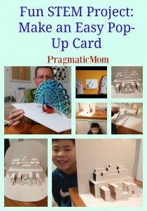 Fun STEM Project: Make an Easy Pop-Up Card