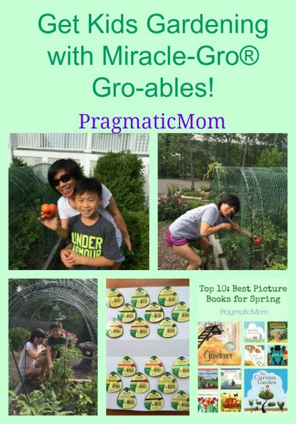 Get Kids Gardening with Miracle-Gro® Gro-ables!