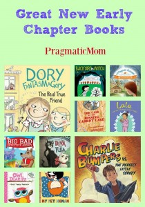 Great New Early Chapter Books