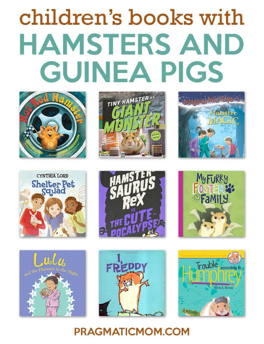 Hamsters & Guinea Pigs in Early Chapter Books