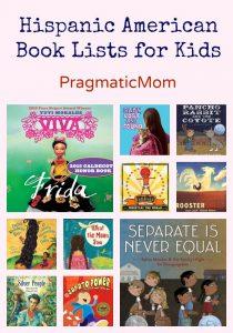 Hispanic American Book Lists for Kids