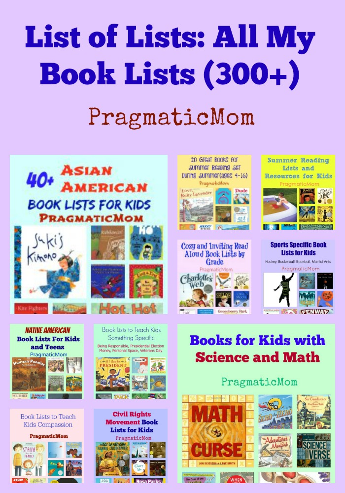 List of Lists: 300 Book Lists for Kids