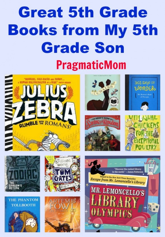 Best 5th grade books from my 5th grade son pragmaticmom more 5th grade books from a 5th grade boy my son sciox Image collections