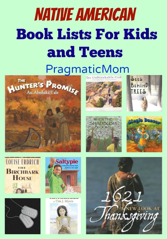 Native American Book Lists for Kids and Teens