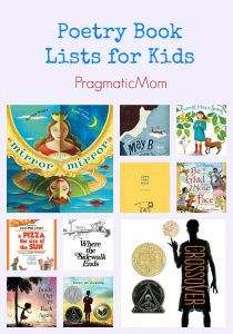 Poetry Book Lists for Kids
