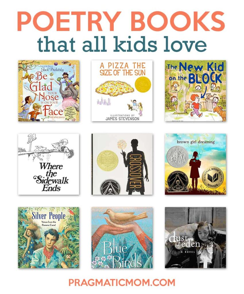 Poetry Books That All Kids Love