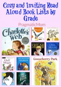 Read Aloud Book Lists by Grade