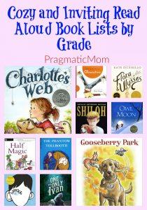 Read Aloud Book Lists by Grade