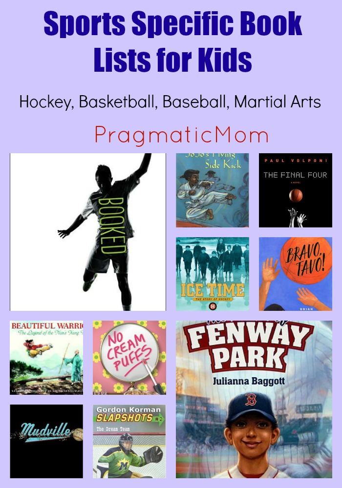 Sports Specific Book Lists for Kids