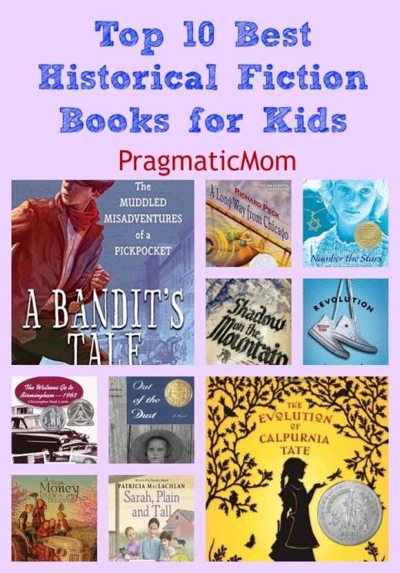 top 10 best historical fiction books for kids pragmaticmom