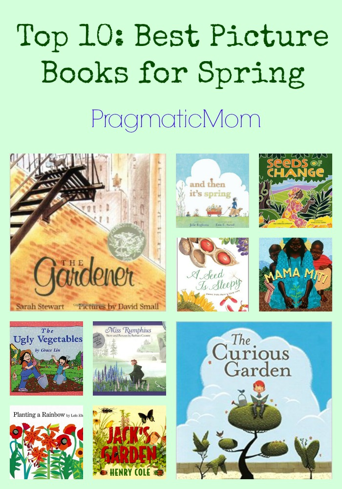 Top 10: Best Picture Books for Spring