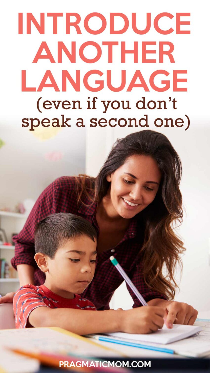how to introduce another language to your kids