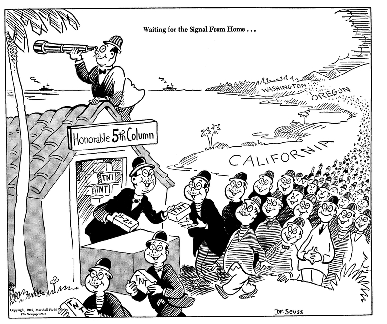 Dr. Seuss Racist Cartoons against Japanese Americans