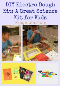 DIY Electro Dough Kit STEM Project for kids