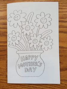Mother's Day Card in Mandarin Chinese