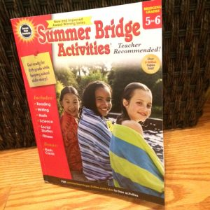 Carson-Dellosa Summer Activities workbook