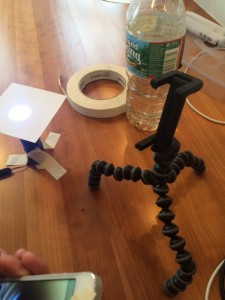 DIY Phone Microscope to See Microbes